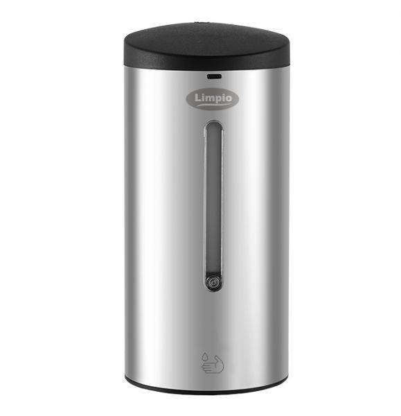 Dozator sapun cu senzor infrarosu 700 ml, inox lucios