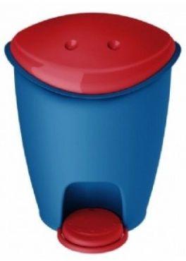 Cos de gunoi pentru copii plastic 13l, cu pedala