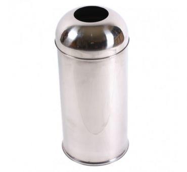 Cos de gunoi inox 50 litri, inoxidabil