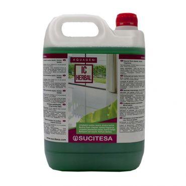 Detergent pardoseli cu parfum de levantica Aquagen IC Herbal 5 litri
