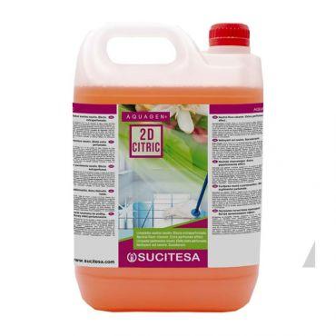 Detergent de intretinere Aquagen Citric 2D cu uscare rapida 5 litri