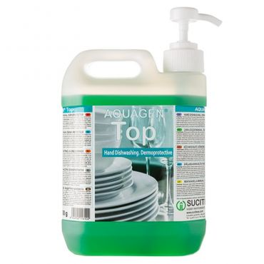 Detergent vase manual cu dozator Aquagen TOP 2000 ml