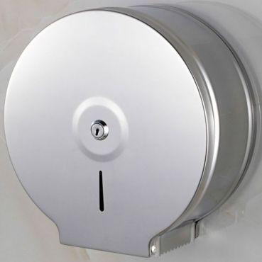 Dispenser hartie igienica inox, metal lucios