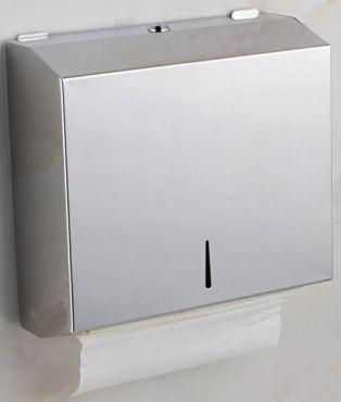 Dispenser prosoape pliate hartie inox
