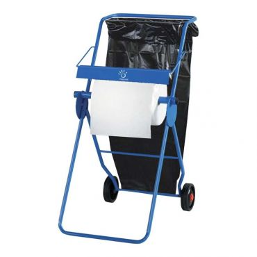 Dispenser rola industriala cu suport saci menajeri Papernet metalic