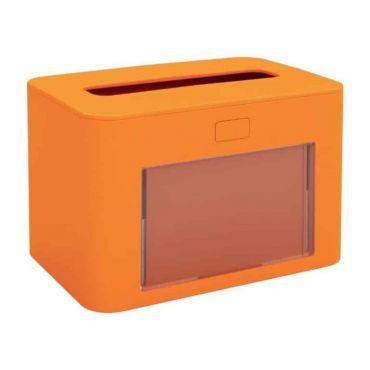 Dispenser servetele de masa pliate Ready Table Papernet portocaliu