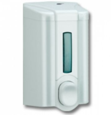 Dozator sapun lichid 500 ml, plastic ABS alb