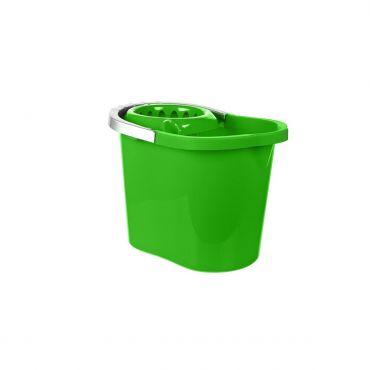 Galeata ovala cu storcator si maner plastic, 13 litri