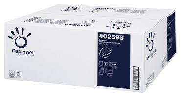 Hartie igienica pliata bulk extra alba, 2 str, 224 buc, Papernet