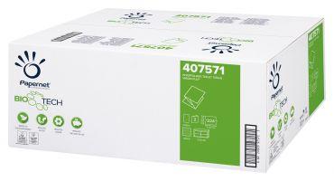 Hartie igienica pliata bulk, celuloza, 2 str, 224 foi Papernet