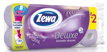 Hartie igienica Zewa Deluxe parfumata, 3 straturi, 10 role