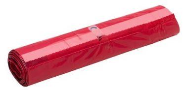 Saci menajeri rosii 120 litri, 10 buc/rola