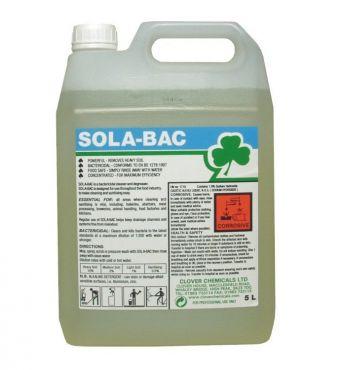 Sola Bac 5l - Detergent antibacterian si degresant pentru suprafete