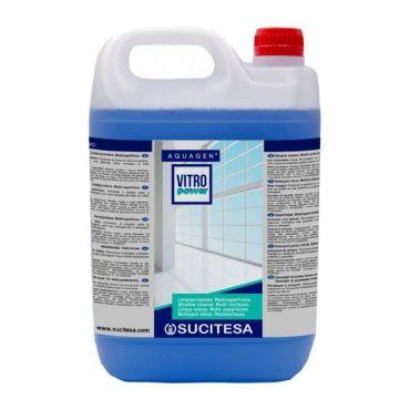 Solutie curatat geamuri cu amoniac Aquagen Vitro Power 5 litri