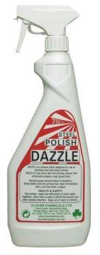 Solutie curatat inox Dazzle 750 ml, profesionala